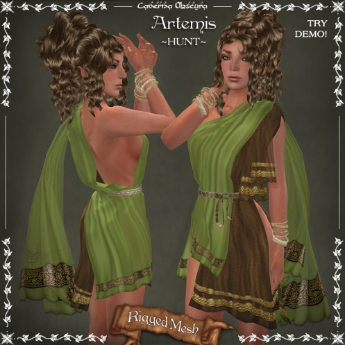Artemis Tunic ~HUNT~by Caverna Obscura