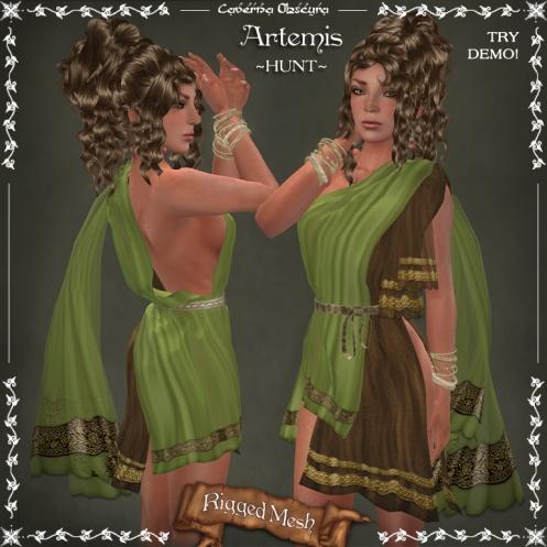 Artemis Tunic ~HUNT~by Caverna Obscura