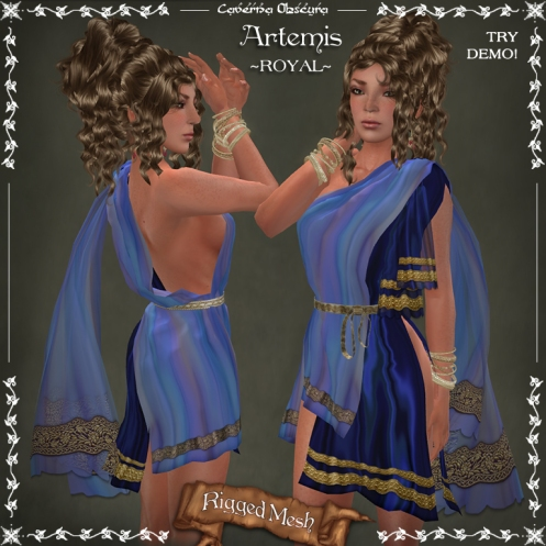Artemis Tunic ~ROYAL~by Caverna Obscura
