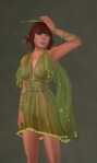 Flutter Dress FOREST1