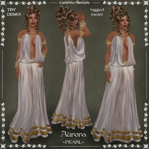 Aurora Toga ~PEARL~ by Caverna Obscura