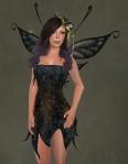 Faelyn Ragged Dress BLACK2