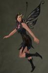Faelyn Ragged Dress BLACK3