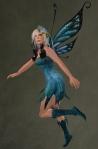 Faelyn Ragged Dress BLUE3