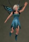 Faelyn Ragged Dress BLUE4