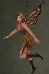 Faelyn Ragged Dress BROWN3