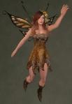 Faelyn Ragged Dress BROWN4