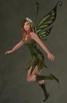 Faelyn Ragged Dress GREEN3