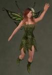 Faelyn Ragged Dress GREEN4
