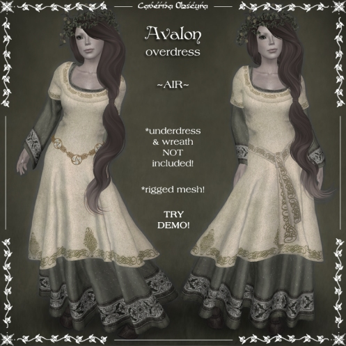 Avalon Overdress ~AIR~ by Caverna Obscura