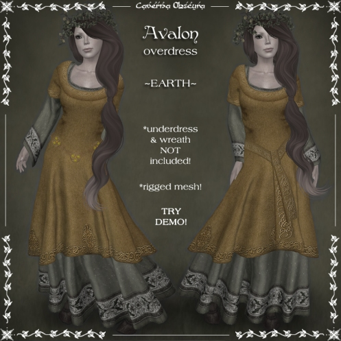 Avalon Overdress ~EARTH~ by Caverna Obscura