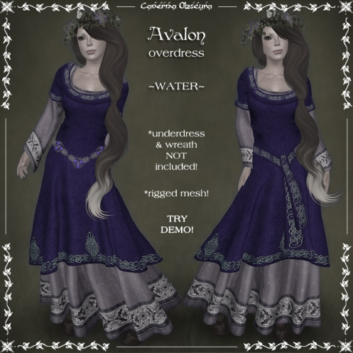 Avalon Overdress ~WATER~ by Caverna Obscura