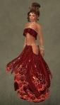 Anais Silks RED07