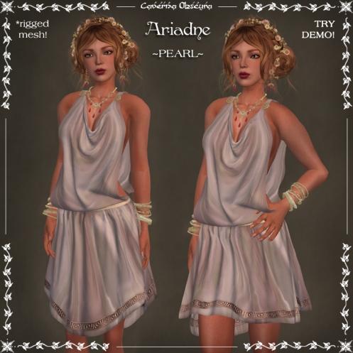 Ariadne Tunic ~PEARL~ by Caverna Obscura