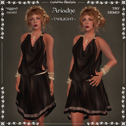 Ariadne Tunic ~TWILIGHT~ by Caverna Obscura