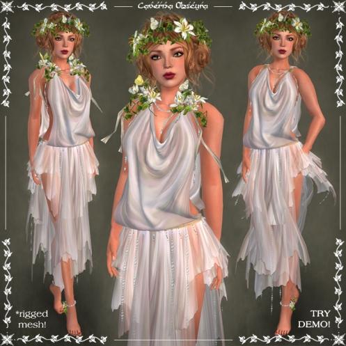 Harmonia Silks ~PEARL~ by Caverna Obscura