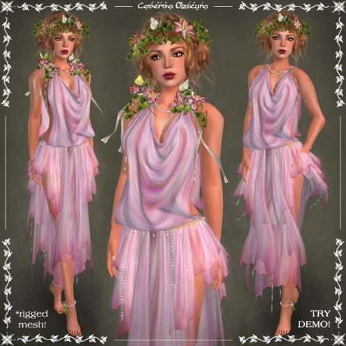 Harmonia Silks ~ROSE~ by Caverna Obscura