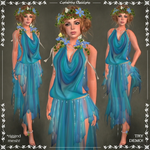 Harmonia Silks ~SEA~ by Caverna Obscura