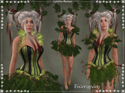 Evergreen Outfit by Caverna Obscura