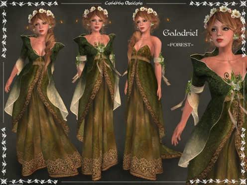 Galadriel Outfit ~FOREST~ by Caverna Obscura