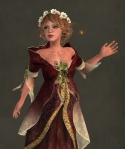 Galadriel Outfit WINE2