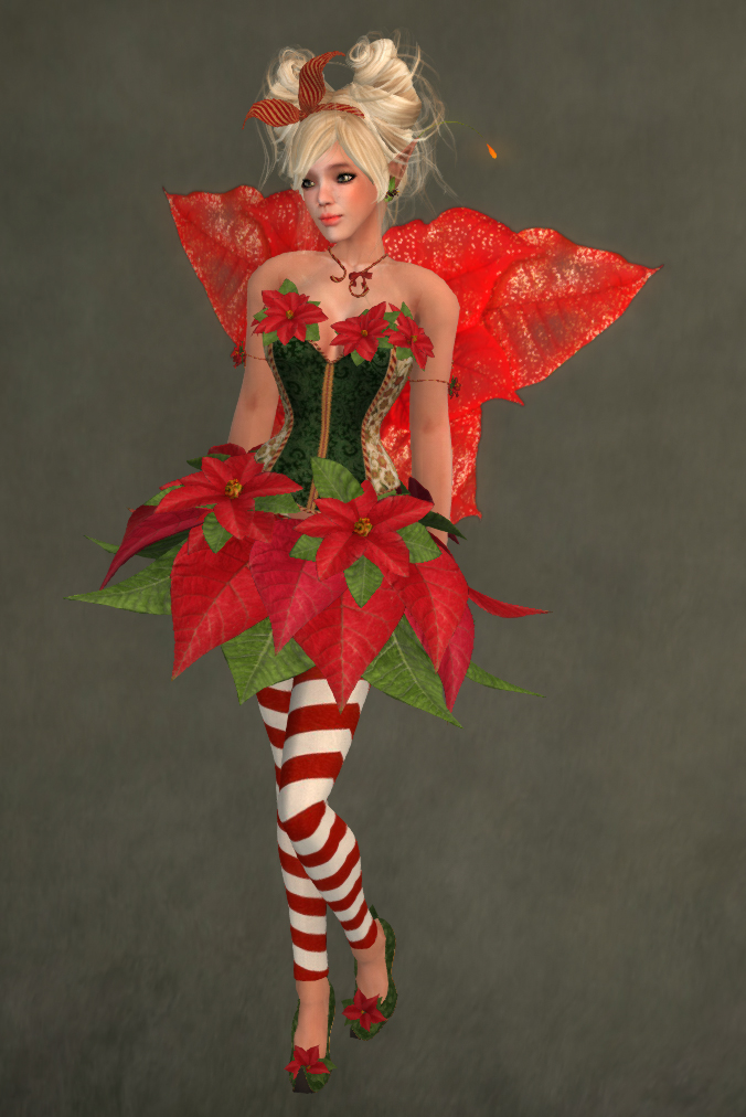 poinsettia faerie outfit by caverna obscura caverna. Black Bedroom Furniture Sets. Home Design Ideas