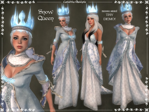 Snow Queen Outfit by Caverna Obscura