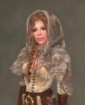 Ulfhildr Mesh Add-on BROWN1