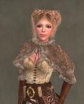 Ulfhildr Mesh Add-on BROWN2