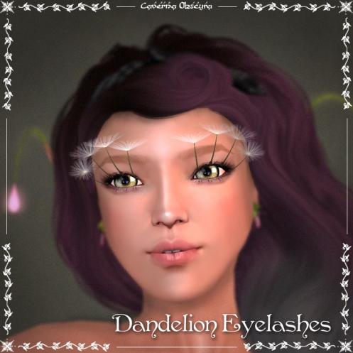Dandelion Eyelashes by Caverna Obscura