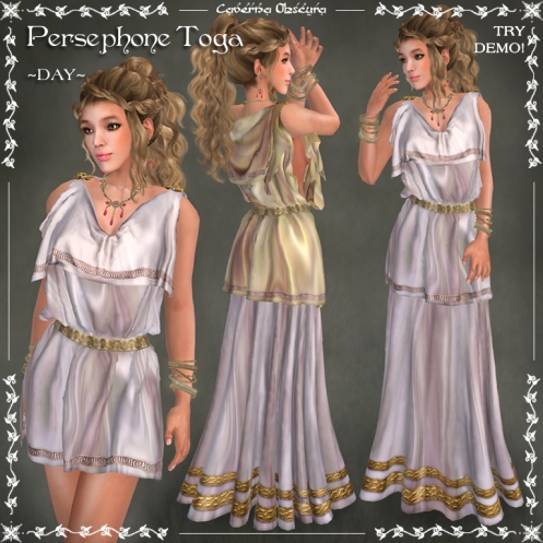 Persephone Toga ~DAY~ by Caverna Obscura