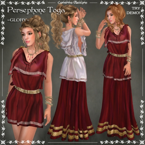 Persephone Toga ~GLORY~ by Caverna Obscura