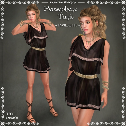 Persephone Tunic ~TWILIGHT~ by Caverna Obscura