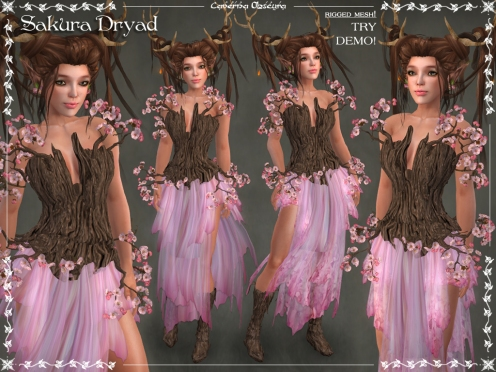 Sakura Dryad Outfit by Caverna Obscura