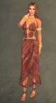 Spartan Dress RED4