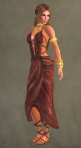Spartan Dress RED5