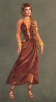 Spartan Dress RED6