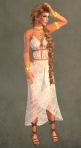 Spartan Dress WHITE3