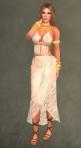 Spartan Dress WHITE6