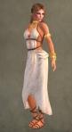 Spartan Dress WHITE7