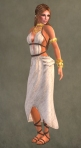Spartan Dress WHITE7