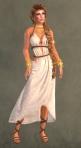 Spartan Dress WHITE8