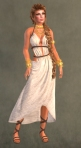 Spartan Dress WHITE8