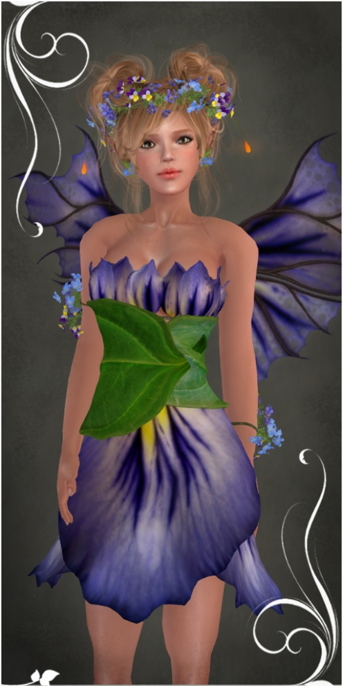 Fiola ~BLUE~ Outfit by Caverna Obscura
