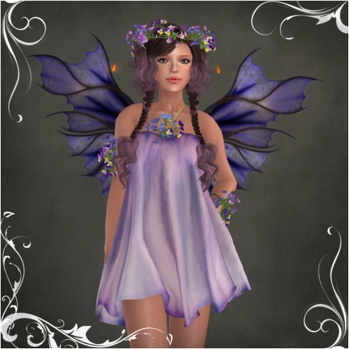 Fiola ~PURPLE~ Outfit by Caverna Obscura