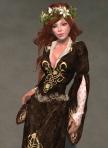Luthien Gown BROWN01