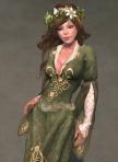 Luthien Gown GREEN01