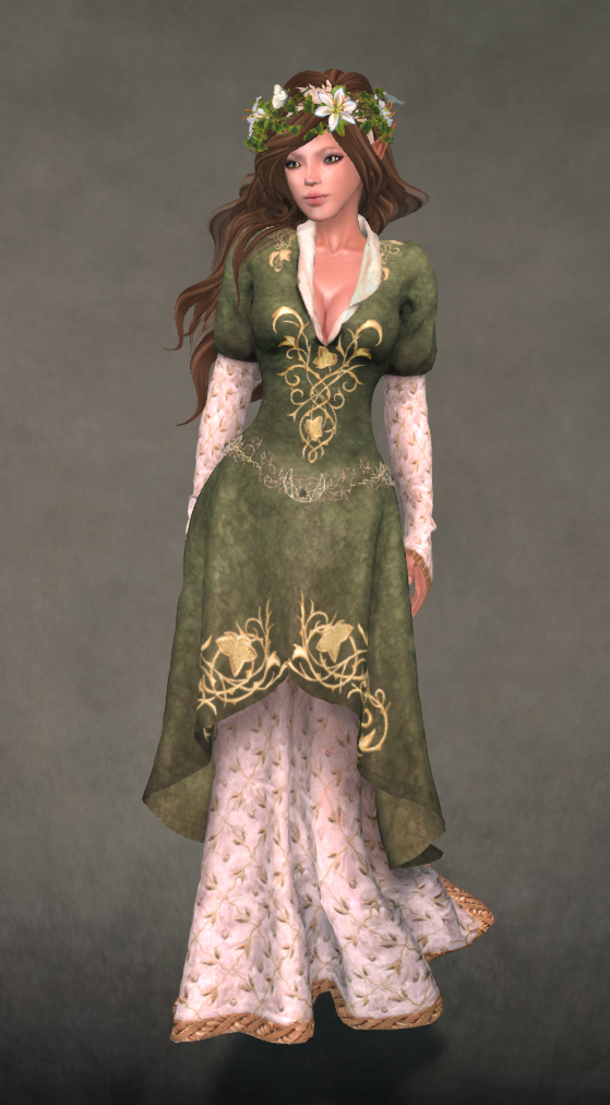 Lord Rings Elven Princess Dress