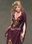 Luthien Gown PLUM01