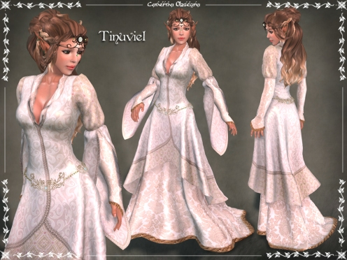 Tinuviel Gown by Caverna Obscura